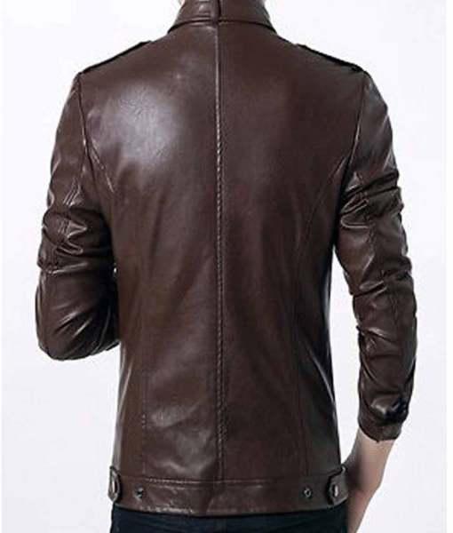 slim-fit-mens-brown-faux-formal-leather-jacket
