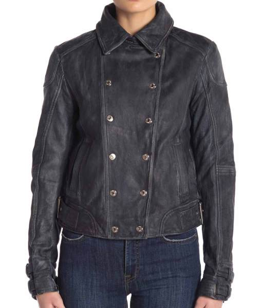 arrow-s07-dinah-drake-black-leather-jacket