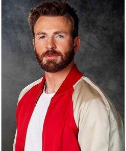 avengers-endgame-premiere-chris-evans-bomber-jacket
