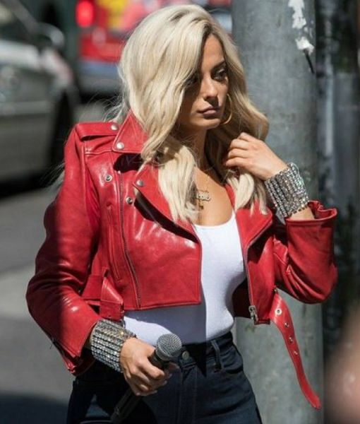 the-way-i-are-bebe-rexha-red-jacket