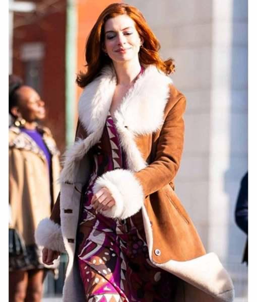 anne-hathaway-modern-love-lexi-suede-coat