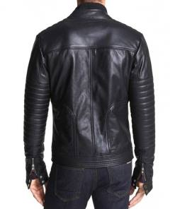 high-neck-collar-black-leather-jacket