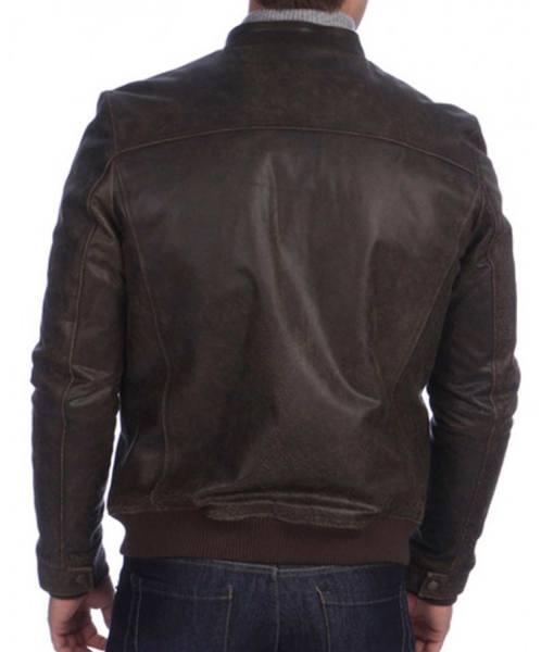 mens-stand-collar-san-antonio-vintage-brown-leather-bomber-jacket