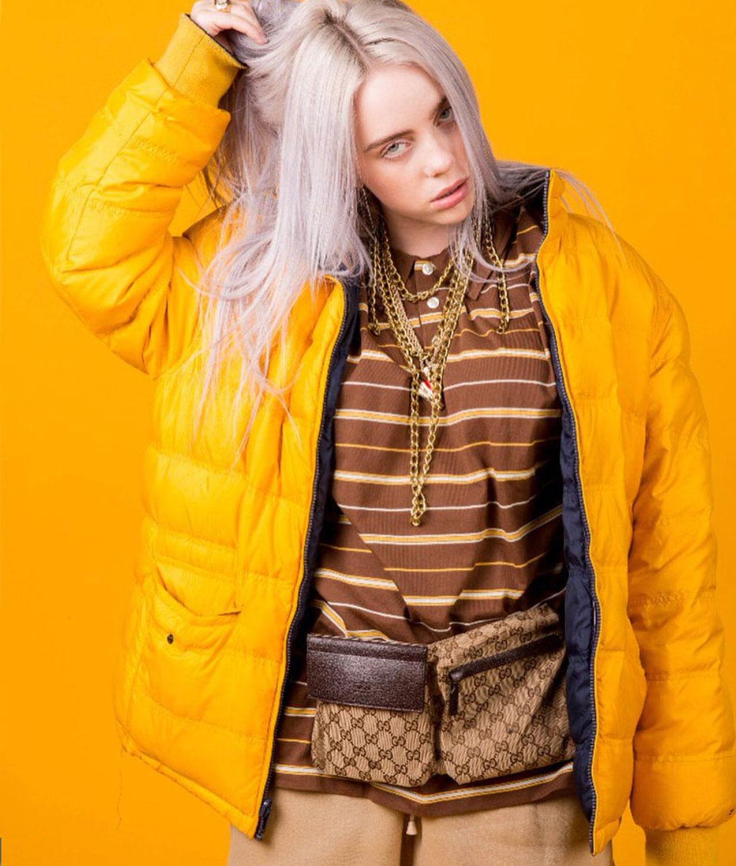 Puffer Billie Eilish Yellow Jacket Jackets Creator