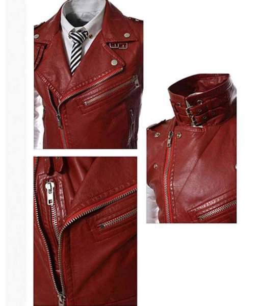 mens-biker-slim-fit-red-leather-vest