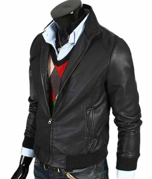 mens-bomber-slim-fit-leather-jacket