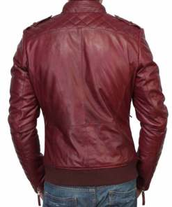 mens-casual-bomber-burgundy-leather-jacket