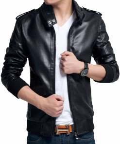 mens-slim-fit-casual-leather-jacket