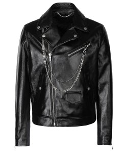 men-chains-leather-jacket