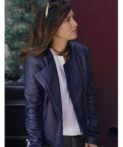 sam-fox-blue-leather-jacket