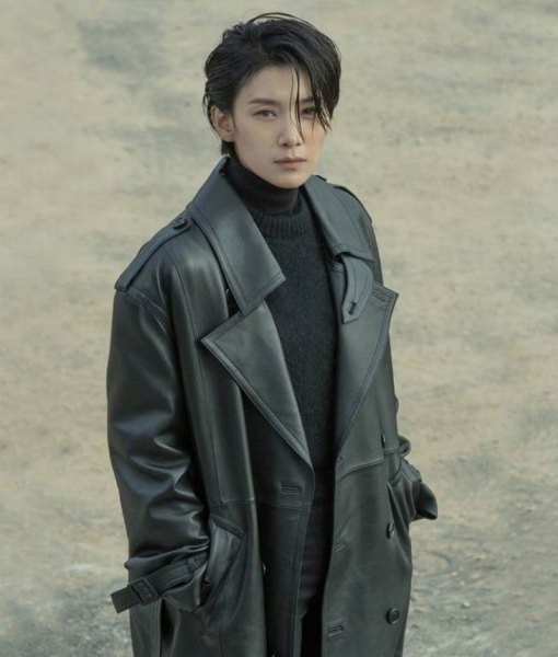 nobody-knows-cha-young-jin-leather-coat