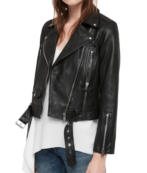 camila-morrone-valley-girl-ruby-leather-jacket