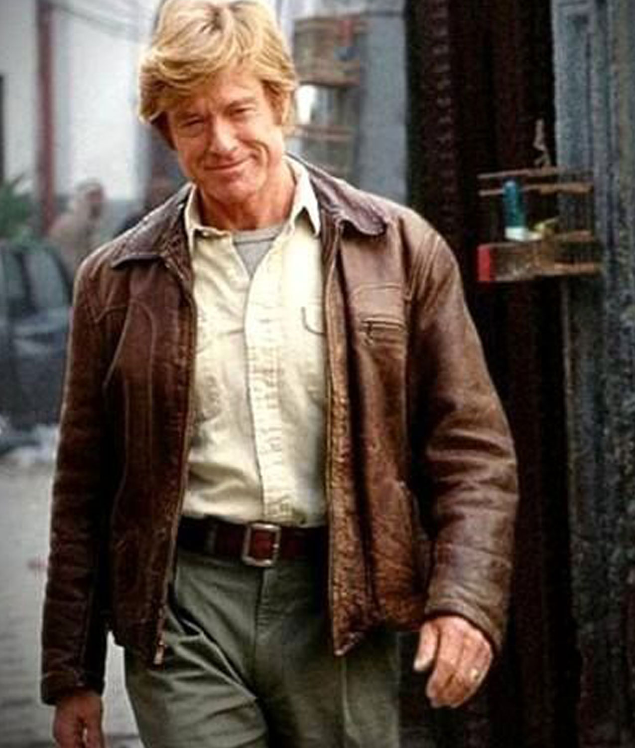 Robert Redford Spy Game Leather Jacket Nathan D Muir Jacket Jackets Creator
