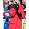 meg-donnelly-red-coat