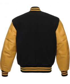 mens-black-and-yellow-bomber-jacket