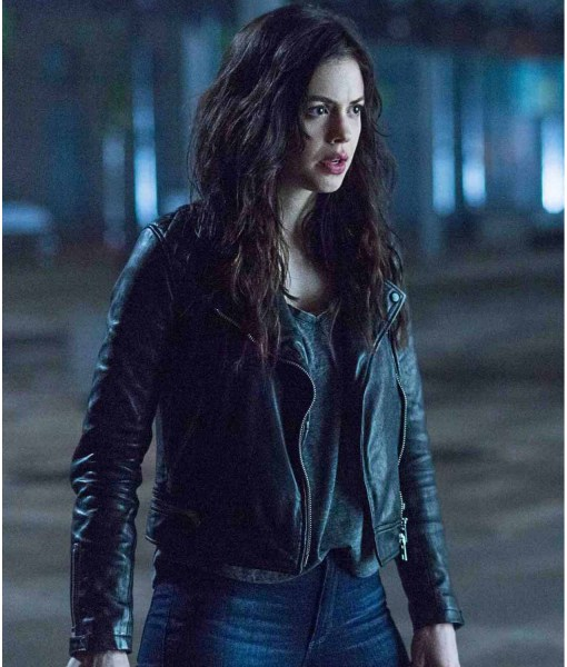 conor-leslie-titans-donna-troy-leather-jacket