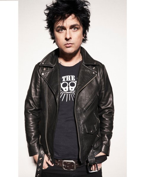 green-day-leather-jacket