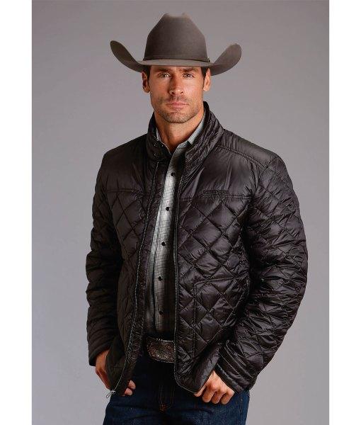 mens-black-down-jacket
