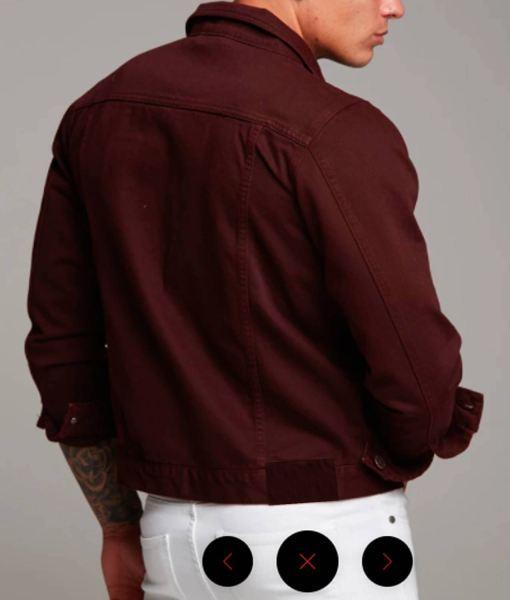 mens-casual-burgundy-jacket