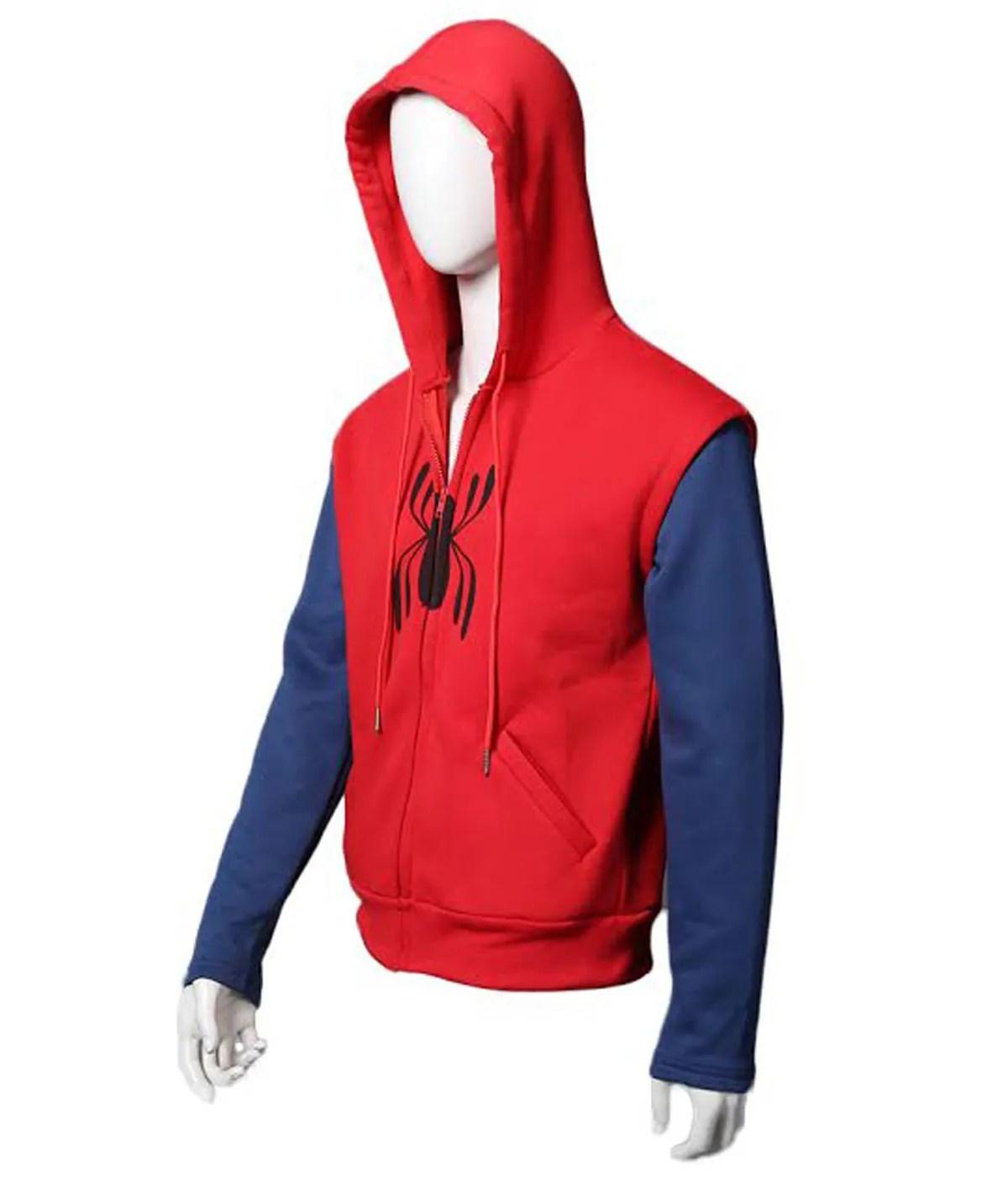peter-parker-tom-holand-spiderman-hoodie