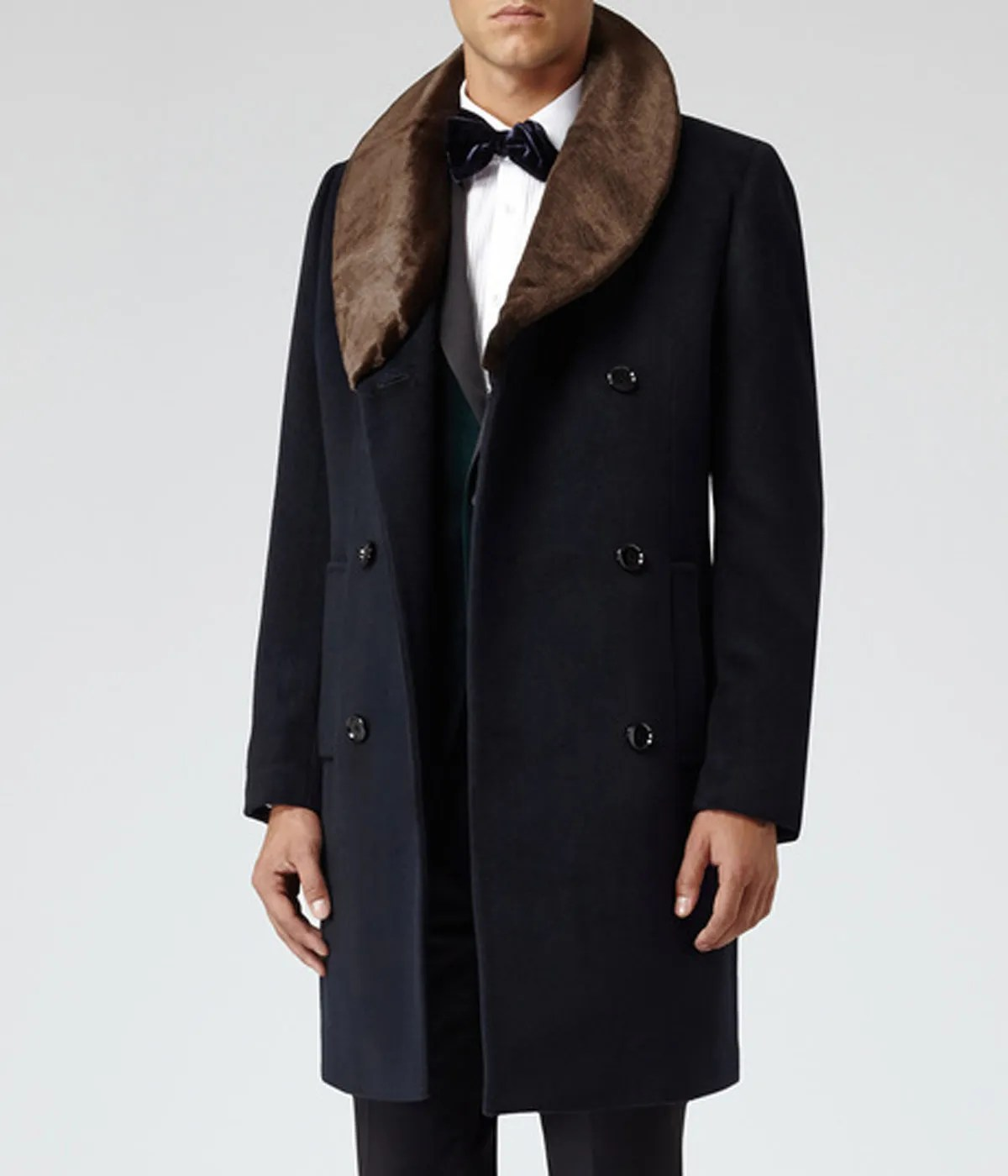 men-double-breasted-reiss-brody-shawl-blue-fur-collar-coat