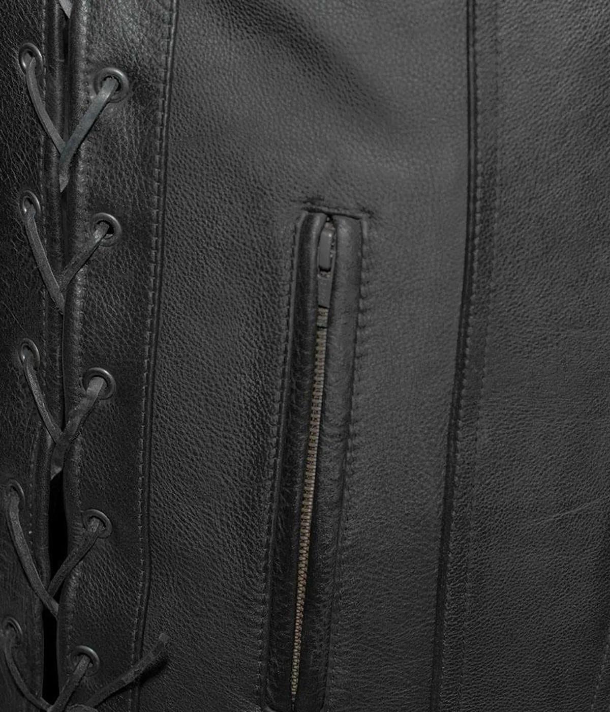 mens-motorcycle-gambler-club-leather-vest