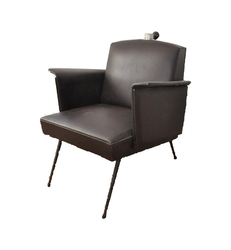 fauteuil vintage de coiffeur