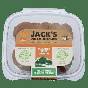 Paleo Pumpkin Spice Cookies