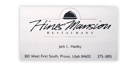 Jack Hadley Hines Mansion