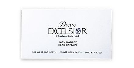 Jack Hadley Excelsior Hotel
