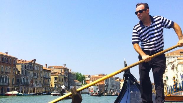 Gondola ride, Grand Canal