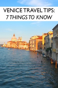 Venice Travel Tips - 7 Things To Know Before You Visit | Jackie Jets Off Part Time Travel Blog