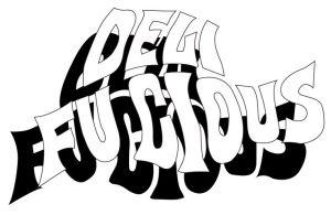 デリファシャス文字ロゴ