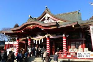笠間稲荷神社稲光閣