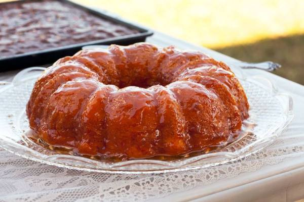 Savarin Chantilly – French Bundt Cake with Apricot Glaze