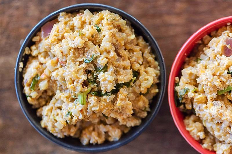 "Thai Cauliflower ""Fried Rice"" with Coconut"