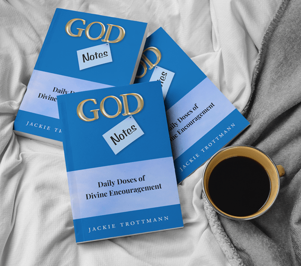 God Notes - Daily Doses of Divine Encouragement Book Signed Copy