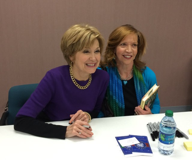 Jackie Trottmann and Jane Pauley