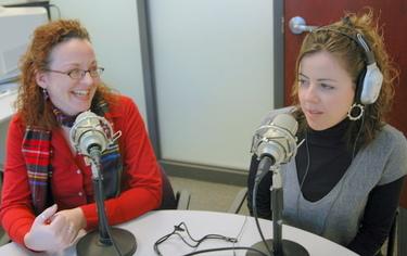 The Big Dog Audio hosts Erin Chapin and Lauren Spuhler