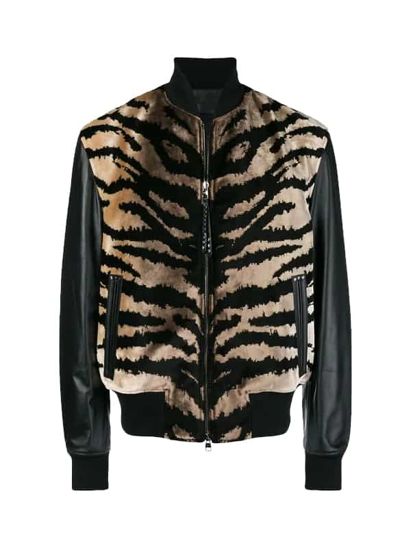 1f0dee608a56 Animal Print Mens Leather Jacket - jackleathers Online Shop