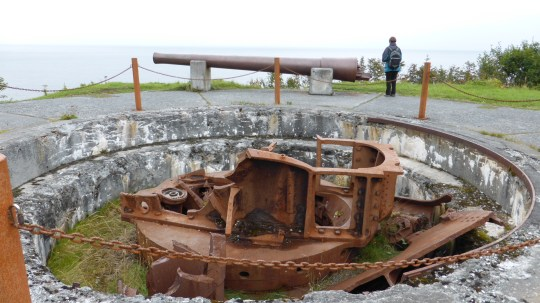 World War 2 Gun Implacements at Ft Abercrombie