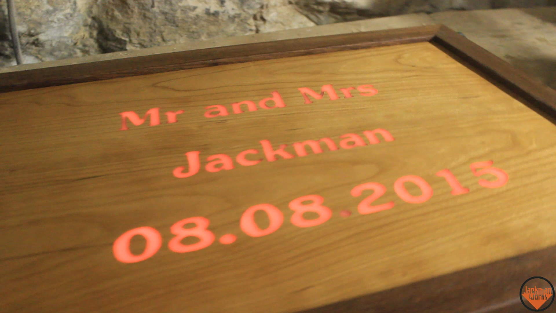 Led cherry wedding sign 28 jackman works jackmanjackman worksjackman carpentrycarpentrywoodworkingwooddiydo it yourselfbuildingmakingdesignupcycledrecycledreclaimedlighted signled solutioingenieria Image collections