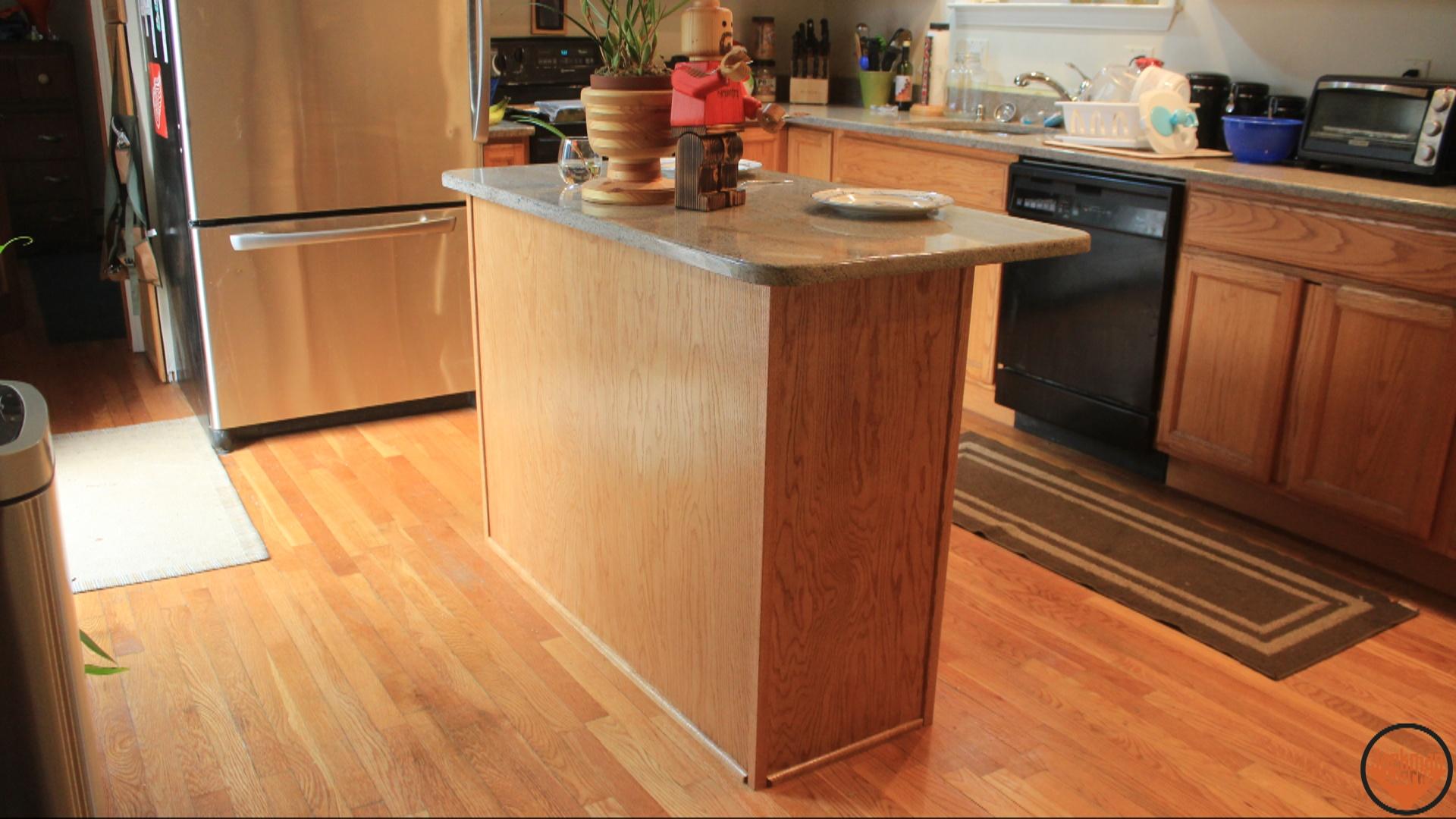 simple kitchen island build 21 | Jackman Works
