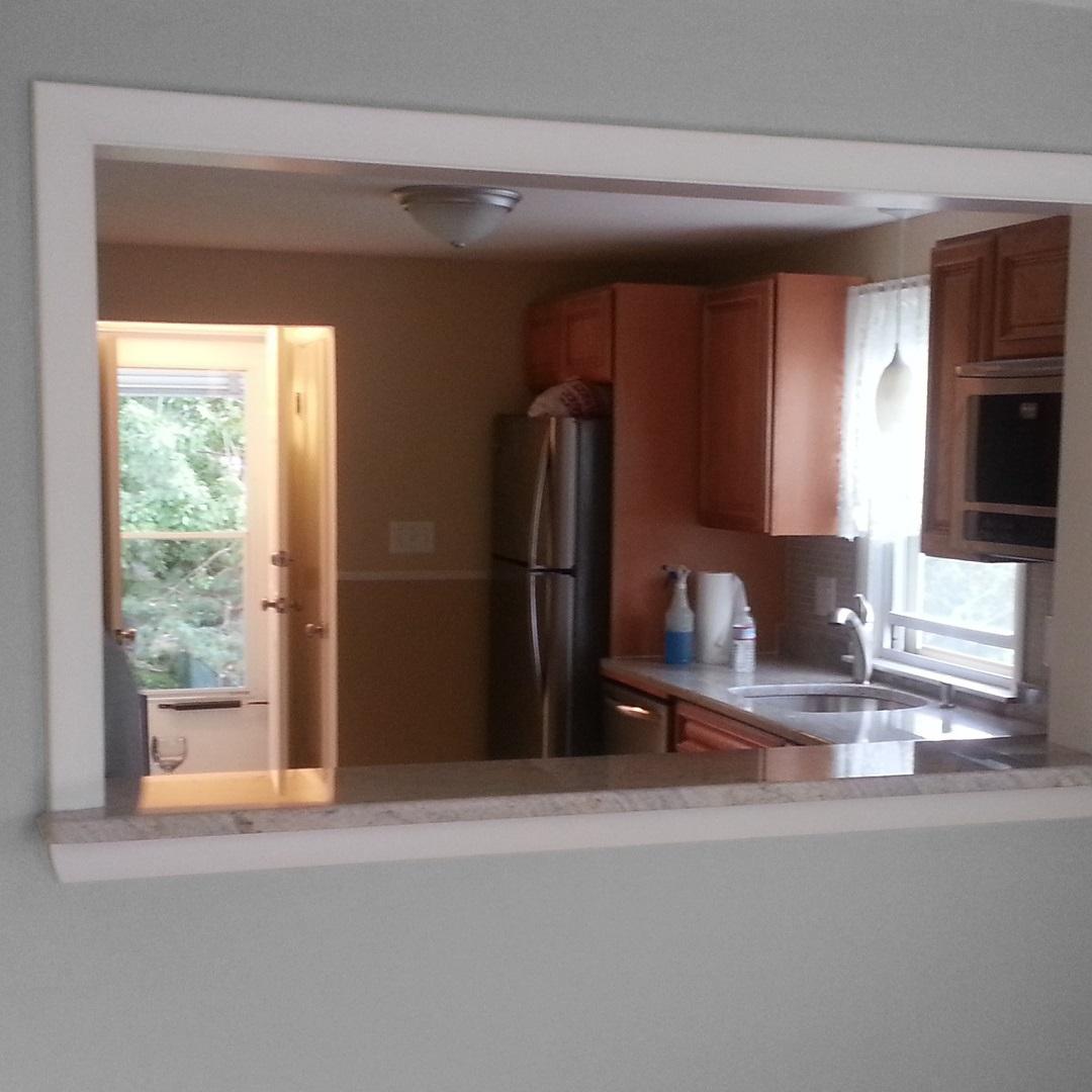 Kitchen Living Room Window ~ Kitchen living room passthrough window jackman works