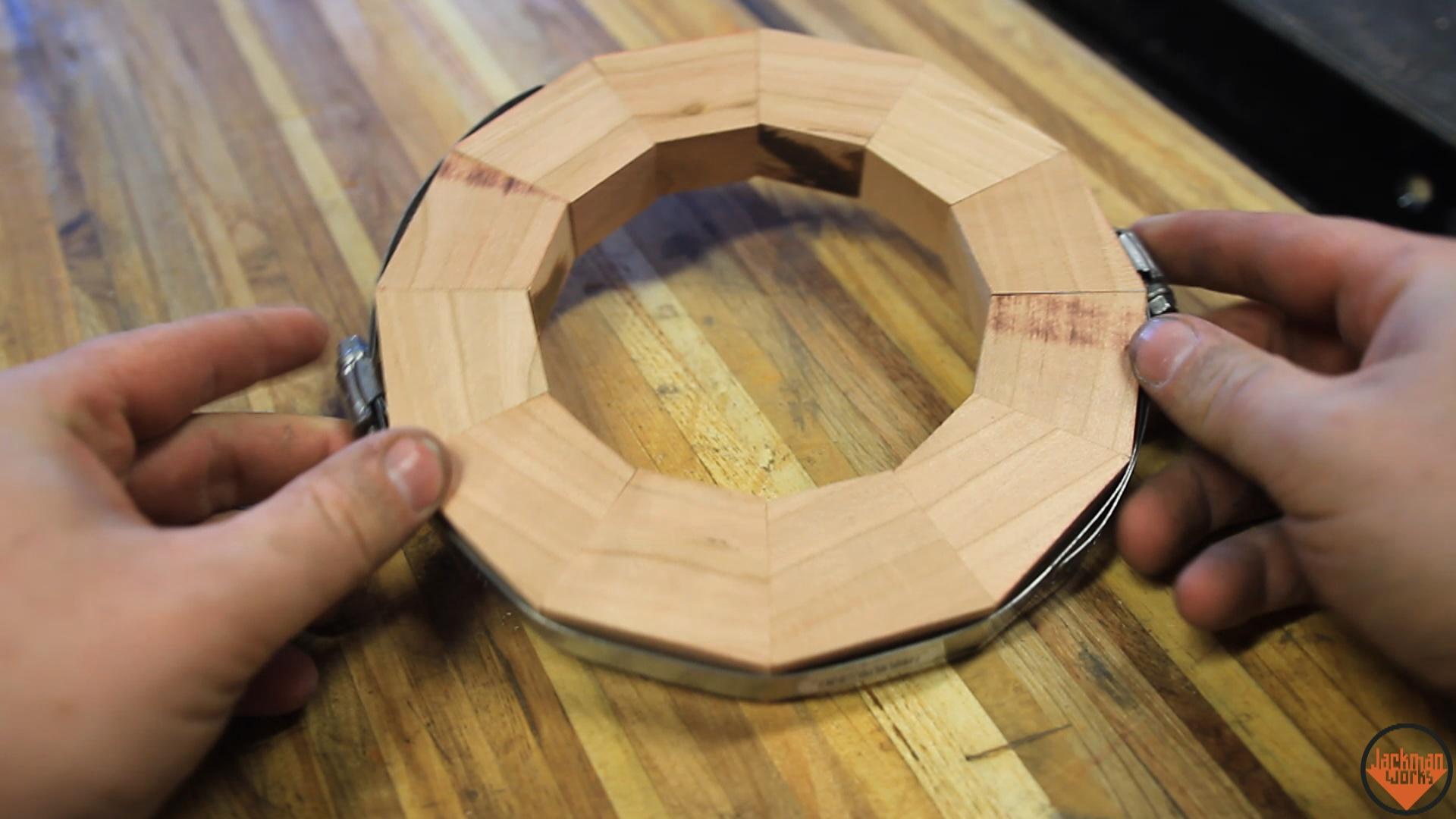 Segmented cherry urns 7 - Jackman Works