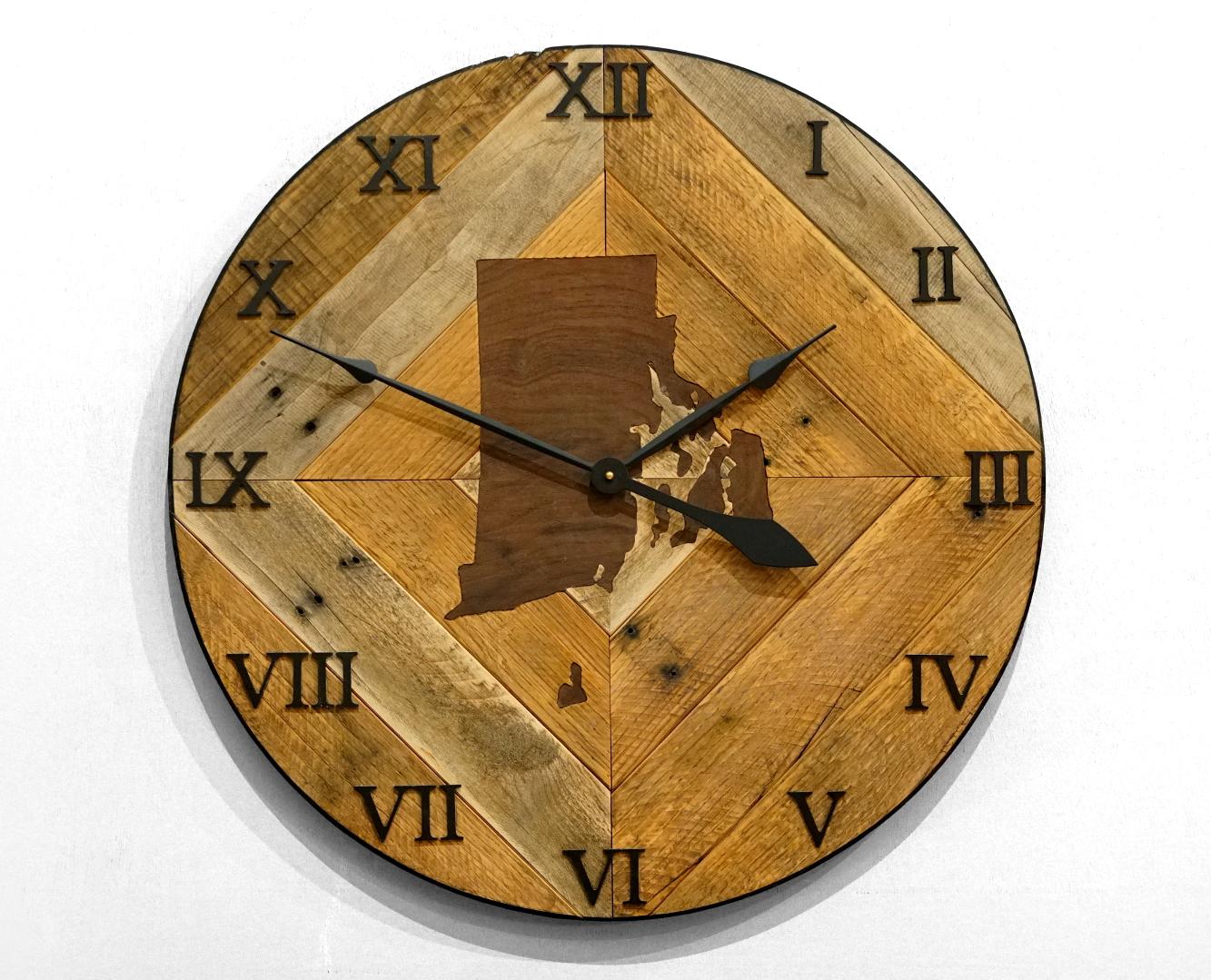 Pallet Wood Wall Clock 1 Jackman Works
