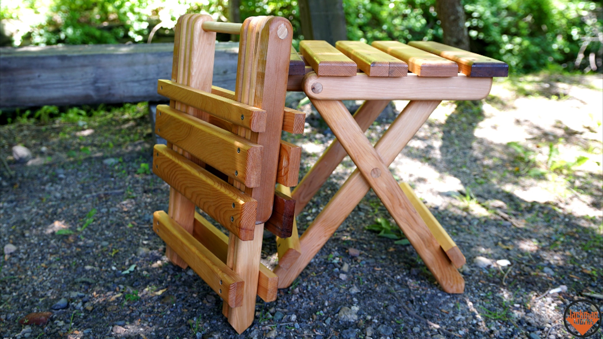 Table,Adirondack,Jackman,Jackman Works,Collapsible,Folding,Folding Table, Adirondack Table,Adirondack Chair,Collapsible Furniture,incredible,picnic  ...