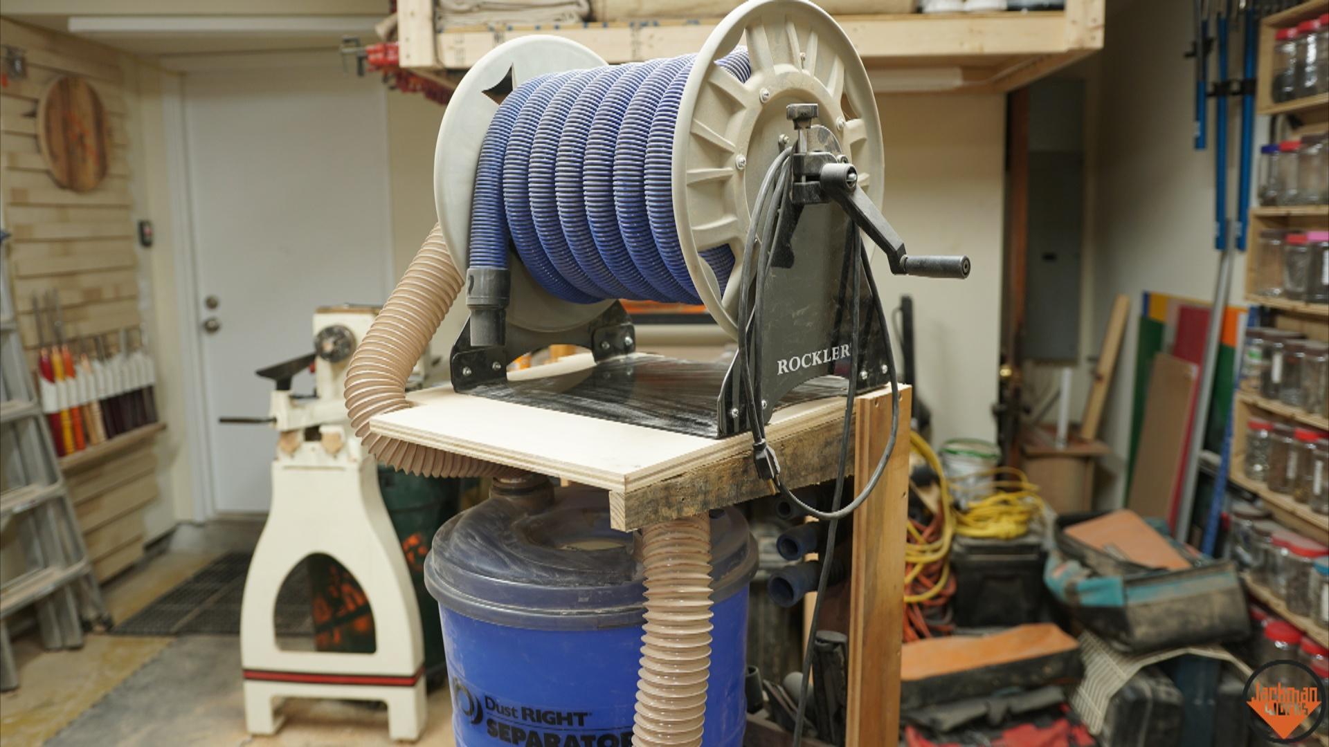 Space Saving Shop-Vac Dust Collector Cart 34 – Jackman Works