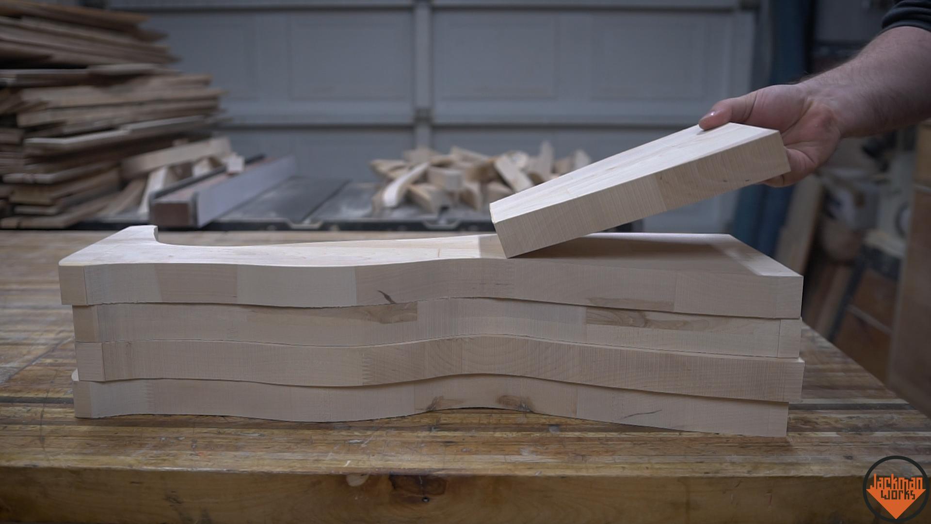 Making A Wood Pedestal Leg Table 5 Jackman Works