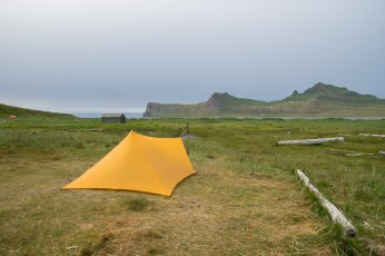 Campsite in Höfn
